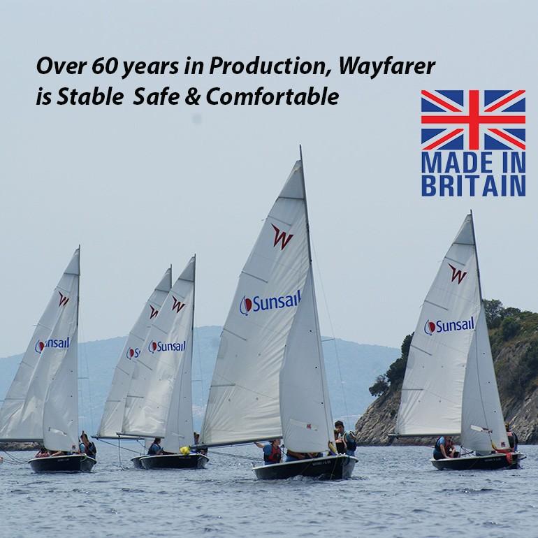 Sailing Dinghy   Wayfarer Cruiser